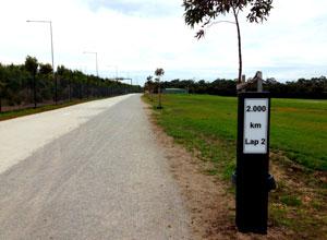 Brolga Flat Top track marker01