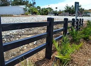 Fencing - Bollard, Picket, or Post and Rail Recycled Plastic Products