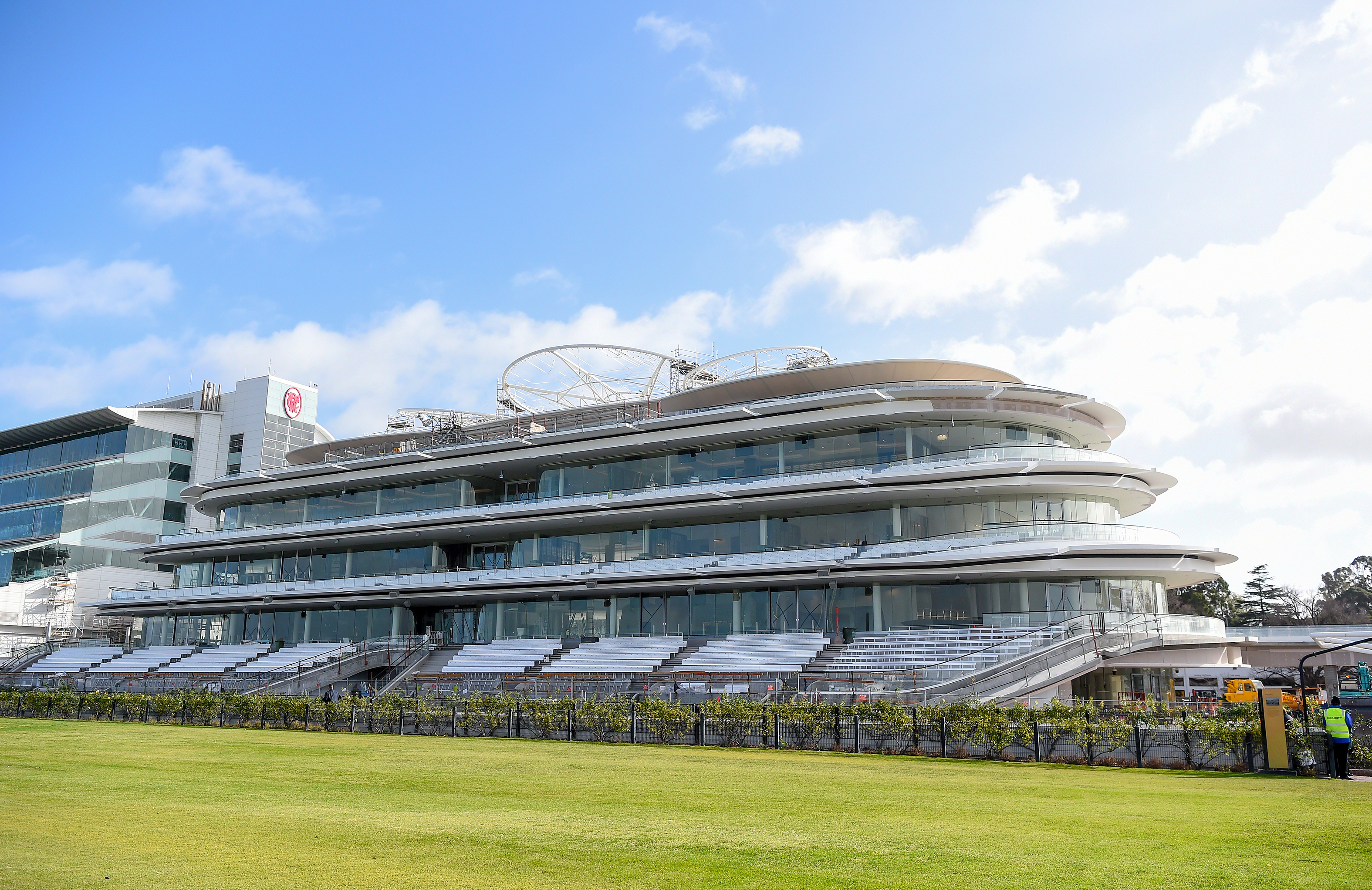 Flemington Racecourse Completes State Of The Art Grand
